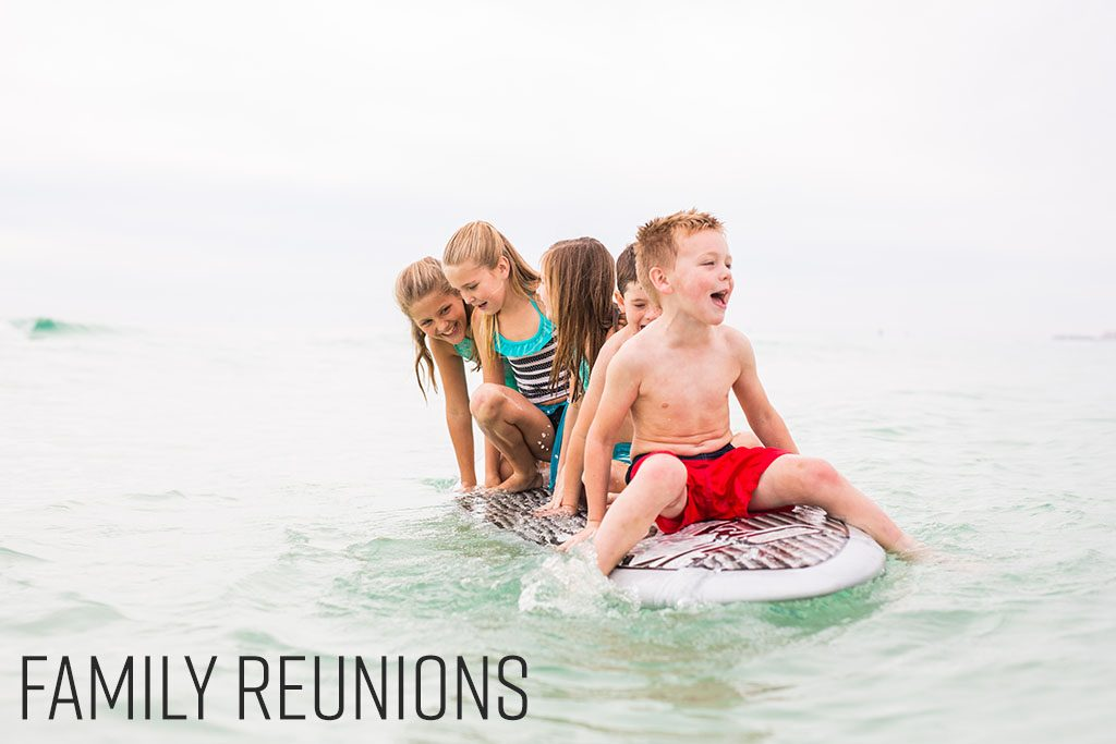 Family Reunions, Group Getaway