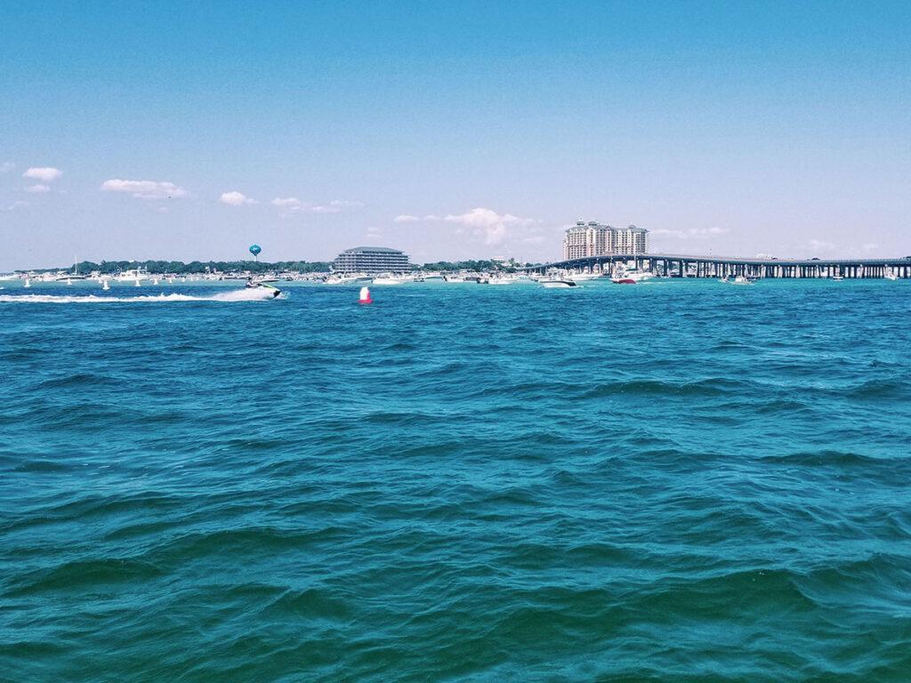 Boating in Destin, Florida